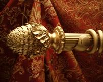 Wood Curtain Rods & Drapery Hardware