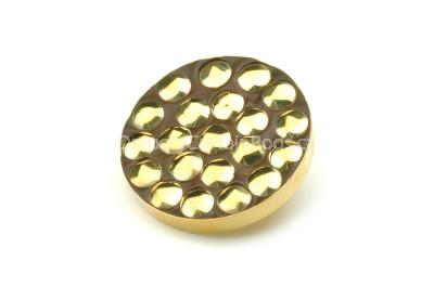 Gold bracket buttons