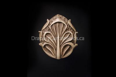 Rose gold decorative hold backs