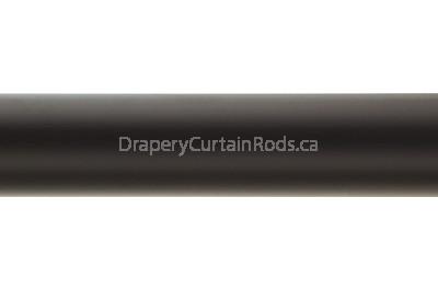 black curtain pole