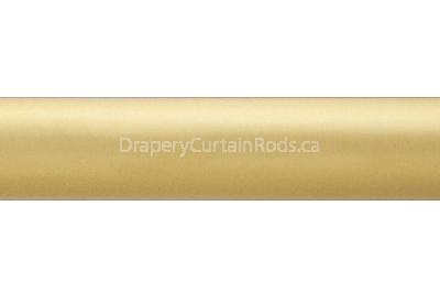 brass curtain pole