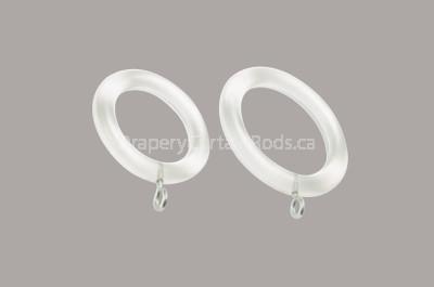 clear acrylic curtain rings