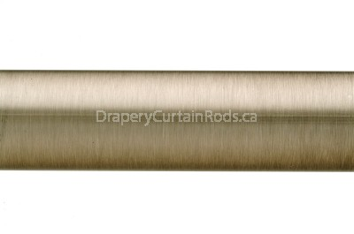 Pewter plain curtain poles