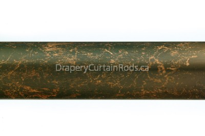 walnut decorative curtain poles