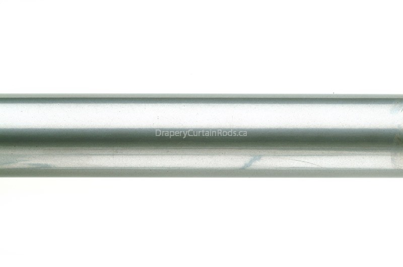 Silver Iron Curtain Poles 4 6 8 And 10 Foot Lengths