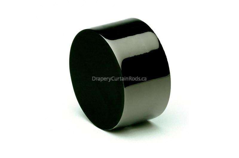 Black nickle decorative end caps uec kn
