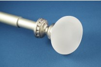 extendable curtain rods english pewter colour