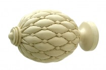 Linen decorative finials