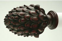 Mohoganny decorative finials