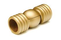 Antique gold decorative curtain rod elbows