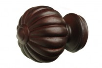 Mahogany decorative wood finials