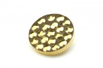 Gold Bracket Buttons AB248