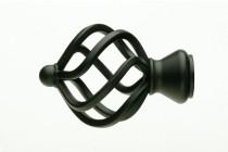 Black Finials UFN11-BL