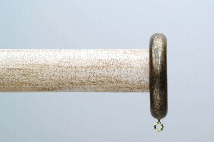 antique gold decorative wood curtain rings rg 083 qg