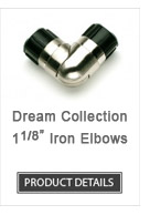 Iron Curtain Rod Elbows Dream Collection