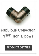 Iron Curtain Rod Elbows Fabulous Collection