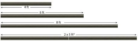Long Drapery Rods